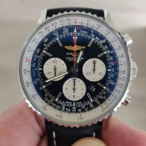 Breitling Navitimer 01 (46 MM) occasion 46mm Noir Chronographe Date Cuir
