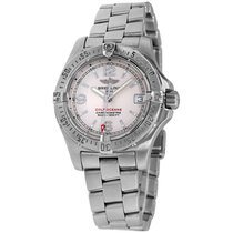 Breitling Colt Oceane Steel 33mm Silver Arabic numerals United States of America, New York, Greenvale