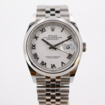 Rolex Datejust 126200-0007 Unworn Steel 36mm Automatic