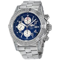 Breitling Super Avenger Steel 48mm Blue Arabic numerals United States of America, New York, NEW YORK CITY