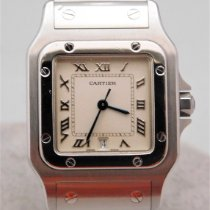 Cartier pre-owned Quartz 29mm Silver Sapphire crystal Not water resistant