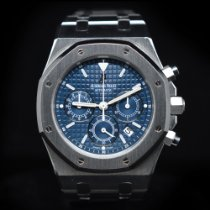 Audemars Piguet Royal Oak Chronograph Steel 39mm Blue No numerals United States of America, Florida, Aventura