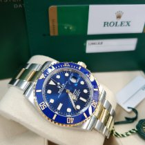 Rolex Submariner Date Gold/Steel 41mm Blue No numerals United States of America, New Jersey, Totowa