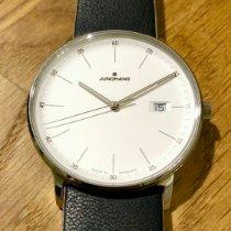 Junghans FORM Acier 39.3mm Blanc Sans chiffres