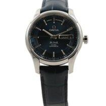 Omega De Ville Hour Vision nuevo Automático Reloj con estuche y documentos originales 431.33.41.22.03.001
