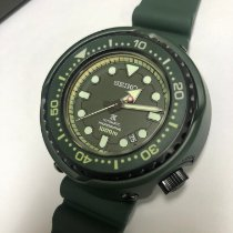 Seiko Prospex Steel Green