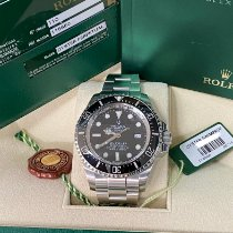 Rolex Sea-Dweller Deepsea Steel 44mm Black No numerals UAE, dubai