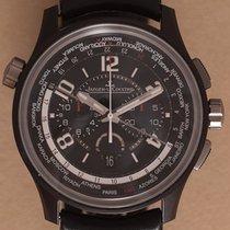 Jaeger-LeCoultre Ceramic Automatic Black Arabic numerals 44mm pre-owned AMVOX