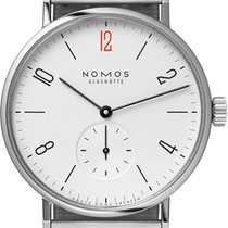 NOMOS Tangomat Steel 38.3mm White United States of America, New York, Airmont