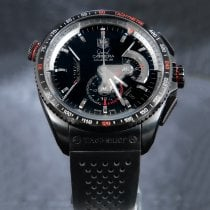 TAG Heuer pre-owned Automatic 43mm Black Sapphire crystal