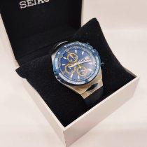 Seiko Steel 43mm Blue