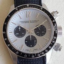 Chronographe Suisse Cie Steel 45mm Automatic CG 52301 GB-BC new