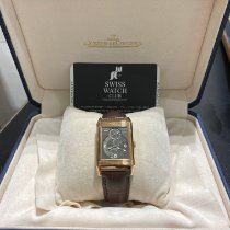 Jaeger-LeCoultre Reverso (submodel) Red gold Silver Arabic numerals
