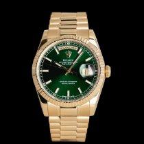 Rolex 118238 Gelbgold 2011 Day-Date 36 36mm gebraucht