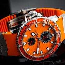 Ulysse Nardin Maxi Marine Diver Steel 43mm Orange No numerals
