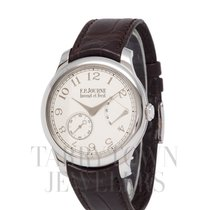 F.P.Journe Souveraine Platinum 40mm Silver Arabic numerals United States of America, New York, Hartsdale