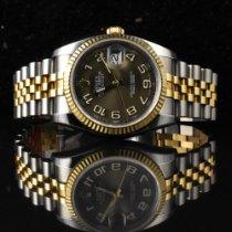 Rolex Datejust Gold/Stahl 36mm Braun Deutschland, Hamburg