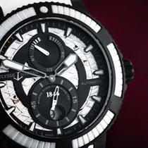 Ulysse Nardin Diver Black Sea Steel 45mm Black Arabic numerals