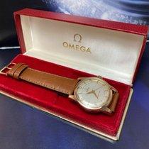 Omega Or jaune Remontage automatique Blanc Arabes 34mm occasion Seamaster