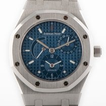 Audemars Piguet Royal Oak Dual Time occasion Bleu Date Acier