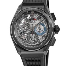 Zenith Defy El Primero Ceramic Transparent No numerals United States of America, New York, Brooklyn