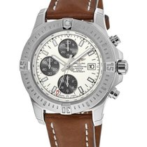 Breitling Colt Chronograph Automatic Steel Silver No numerals United States of America, New York, Brooklyn