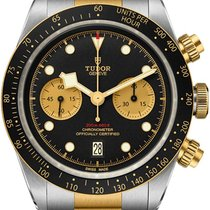 Tudor Black Bay Chrono Or/Acier 41mm Noir