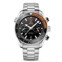 Omega Seamaster Planet Ocean Chronograph Сталь 45.5mm Черный Без цифр