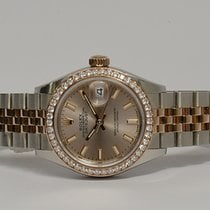 Rolex Lady-Datejust Gold/Steel 28mm Brown No numerals United Kingdom, Hampshire