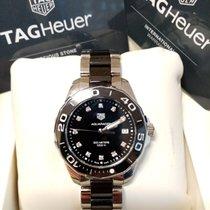 TAG Heuer Aquaracer Lady Acier 35mm Noir Sans chiffres