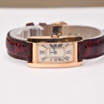 Cartier Tank Américaine Rose gold 34mm Silver