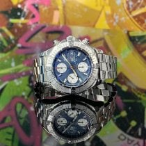 Breitling Superocean Chronograph II Steel 42mm Blue No numerals