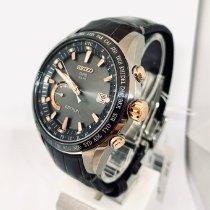 Seiko Astron GPS Solar Chronograph Titanium 45mm Grey No numerals