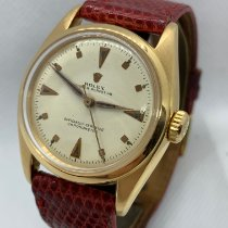 Rolex Yellow gold Automatic 32mm pre-owned Bubble Back
