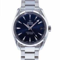 Omega Seamaster Aqua Terra Acier 38.5mm Bleu