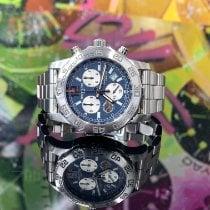 Breitling Colt Chronograph II Acier 44mm Bleu Sans chiffres France, Paris