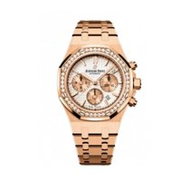 Audemars Piguet Royal Oak Chronograph Rose gold White United States of America, Iowa, Des Moines