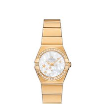 Omega Constellation Quartz Yellow gold 24mm Mother of pearl United Kingdom, London