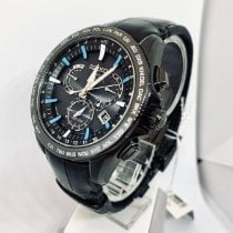 Seiko Astron GPS Solar Chronograph Steel 45mm Black No numerals United States of America, New York, NY
