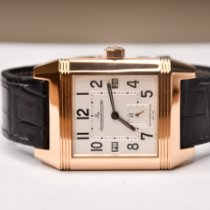 Jaeger-LeCoultre 230.2.77 Rose gold 2010 Reverso Squadra Hometime 34mm pre-owned
