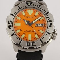 Seiko Monster Acier Orange France, Paris