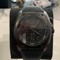 Bell & Ross BR 02 Acero 44mm Negro Romanos
