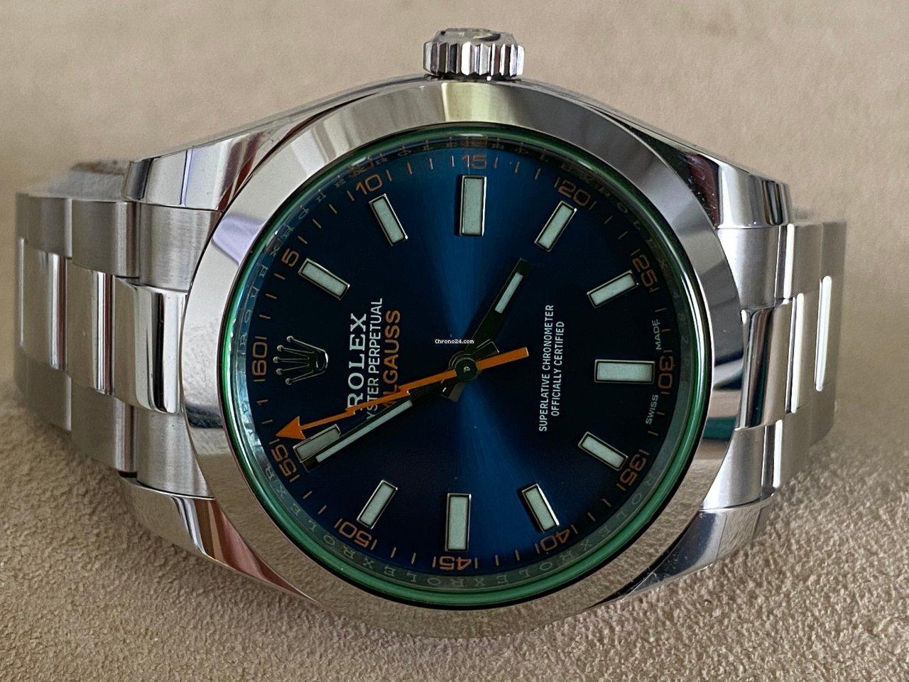 Rolex Milgauss 116400GV 2020 nuovo