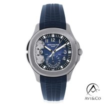 Patek Philippe Aquanaut White gold 40mm Blue Arabic numerals United States of America, New York, New York
