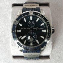 Ulysse Nardin Diver Chronometer Acier Bleu Sans chiffres France, Paris
