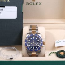 Rolex Submariner Date Gold/Steel 40mm Blue No numerals United States of America, California, Beverly Hills