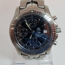 TAG Heuer Link Calibre 16 Steel 42mm Black No numerals United States of America, Florida, West Palm Beach