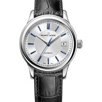 Maurice Lacroix Les Classiques Date LC6027-SS001-133 Nieuw Staal 38mm Automatisch
