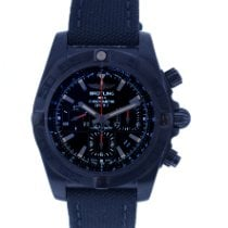 Breitling Chronomat 44 Blacksteel Steel 44mm Black