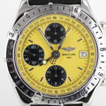 Breitling gebraucht Automatik 39mm Gelb Saphirglas